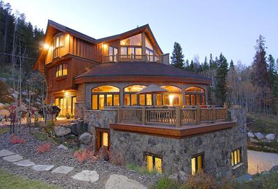 Alpine Majesty - Exterior of luxury vacation home. - 1498-52163 - Breckenridge - rentals