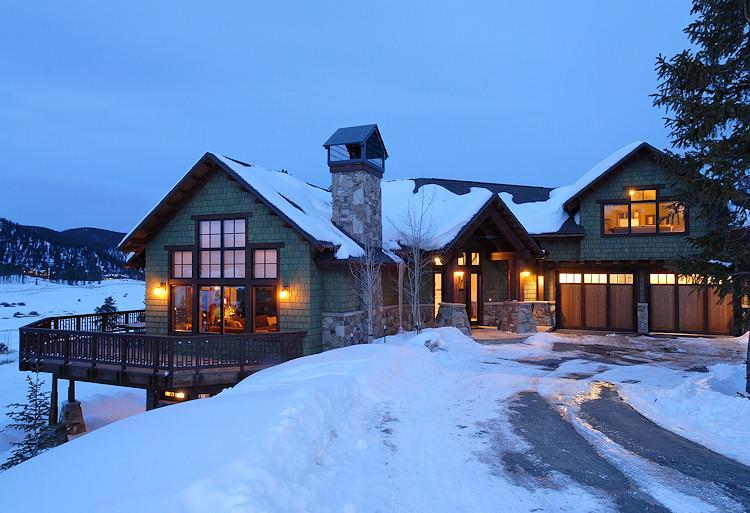Exterior view at dusk - 1498-52220 - Breckenridge - rentals