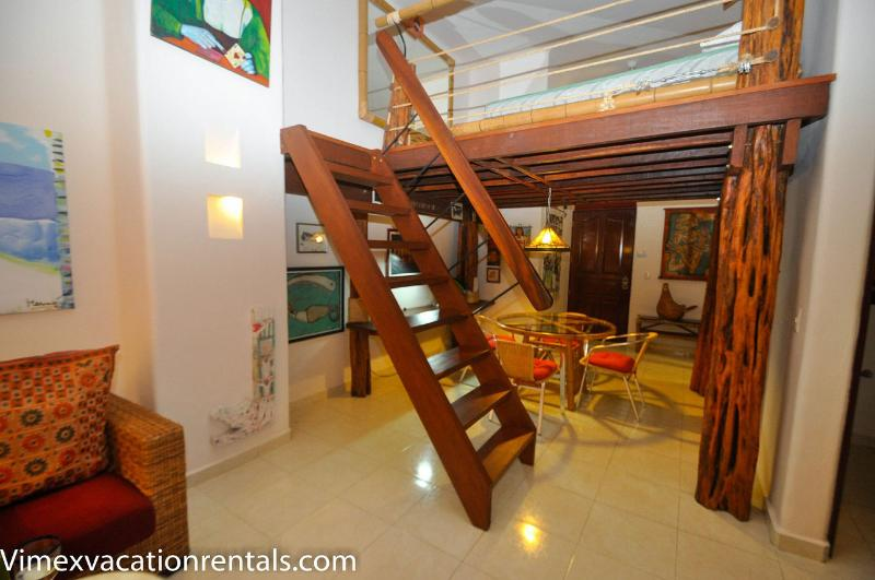 Loft area PK07 - PK07 Loft captures the spirit of Playa del Carmen - Playa del Carmen - rentals