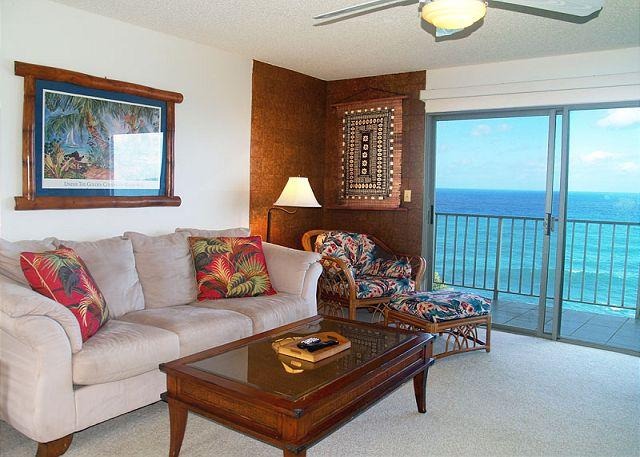 Alii Kai 3103: Oceanfront views and beautifully remodeled... - Image 1 - Princeville - rentals