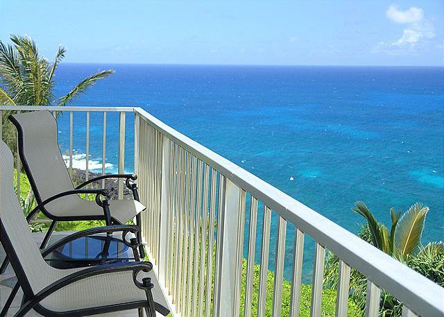 Alii Kai 3204: Prime oceanfront views, top floor corner, very private! - Image 1 - Princeville - rentals