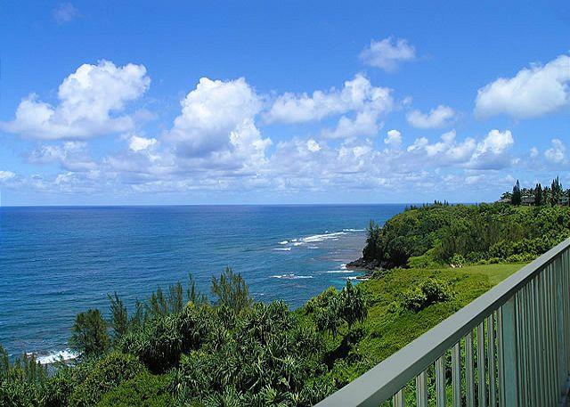 Alii Kai 4304: Beautiful inside, oceanfront views, top floor corner! - Image 1 - Princeville - rentals