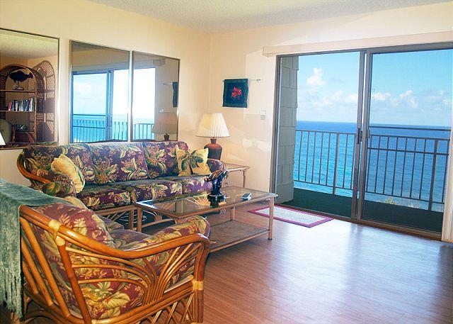 Top floor 2br/2ba condo with exceptional oceanfront views and amenities!! - Image 1 - Princeville - rentals