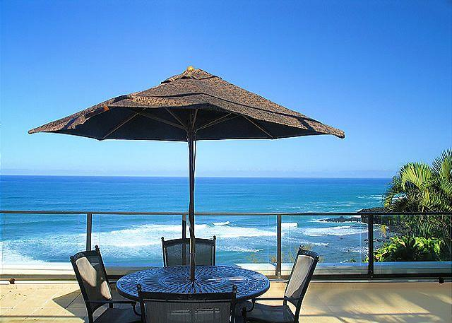 Puu Poa 214: Spacious 2br/2ba with 2000sf of oceanfront luxury, 2 lanais! - Image 1 - Princeville - rentals