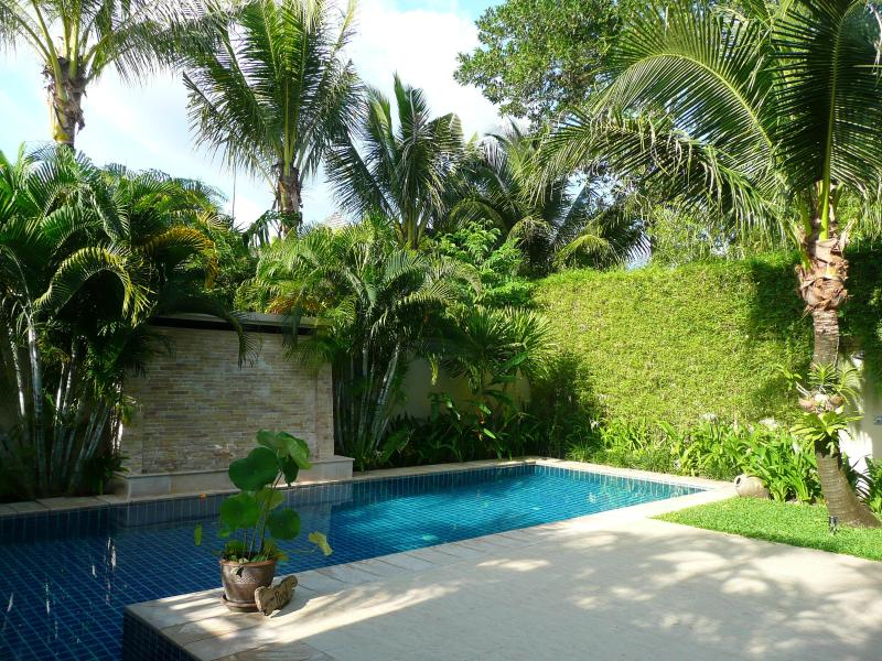 Tropical gardens - Chic totally private villa with large pool - Bang Tao Beach - rentals