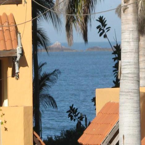 Amazing balcony view - In the Heart of the Goldenzone!  Across from the Beach, 2 Bed 2 Bath Condo! - Mazatlan - rentals