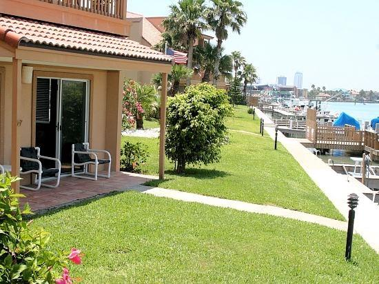 La Solana #111 Bay front condo opens up to the docks and your reserved boat slip. - Image 1 - Port Isabel - rentals