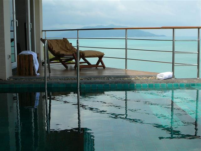 SPA Pool great place to just relax - Stunning Kayjonvilla overlooking Tongson Bay - Koh Samui - rentals