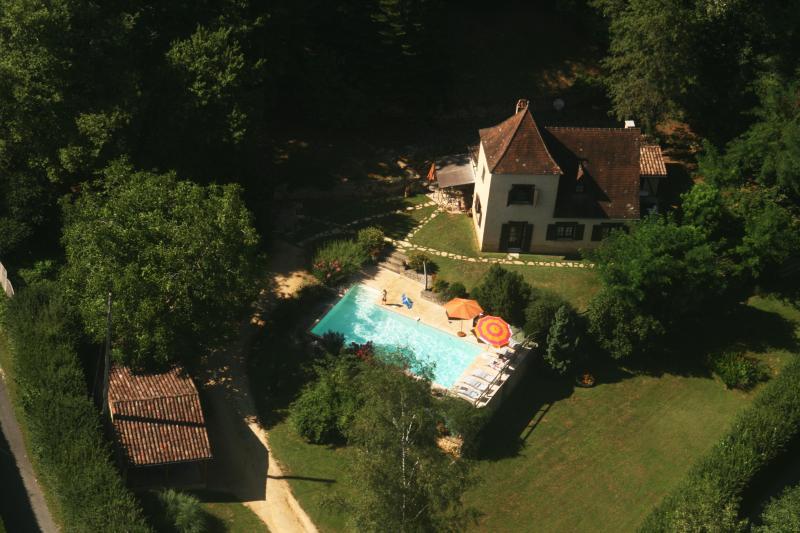 Vue aérienne - Sarlat, Villa Vezac, Périgord Noir, Dordogne - Sarlat-La-Caneda - rentals