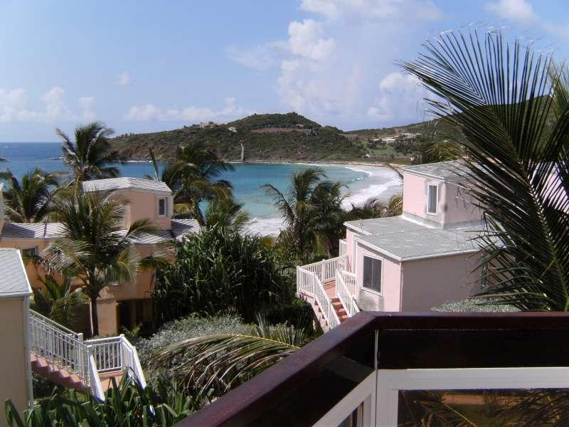 View from the balcony - Condo/Villa near Phillipsburg, Sint Maarten - Saint Martin-Sint Maarten - rentals