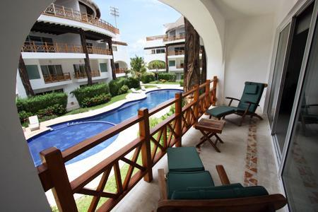 Private Pool View Terrace - Luxury Condo near 5th avenue w/WiFi/Gym - Kaan 204 - Playa del Carmen - rentals