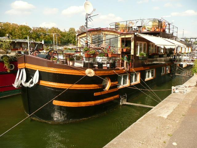 Stay on the Seine, close to the Eiffel Tower - parisbeapartofit - Eiffel Tower Houseboat (299) - Paris - rentals