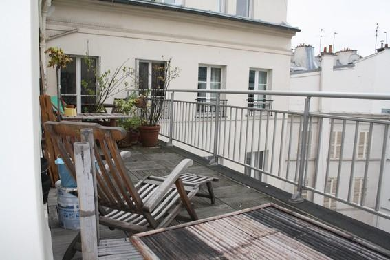 Enjoy the Parisian skyline - Great 1BR terrace-theatre District Rue Richer - Paris - rentals