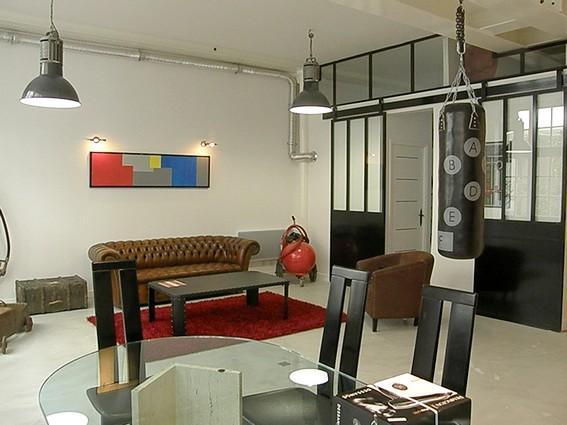 Ideal loft style 2BR-1BA in Paris (Passage de la M - Image 1 - Paris - rentals