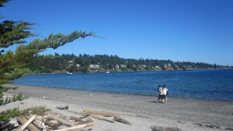 The beach is just a short stroll from the house. - Luxurious cottage near the beach - Victoria - rentals