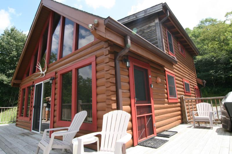 Moose Lodge - Secluded Luxury Log Cabin 2 Miles to SS Spa WiFi - Snowshoe - rentals