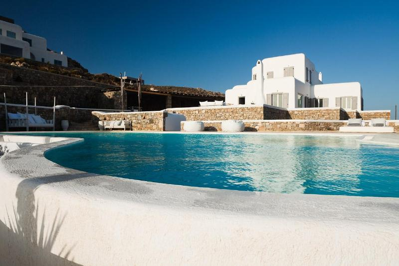 Private rim-flow pool - Villa Eurydice - Mykonos - rentals