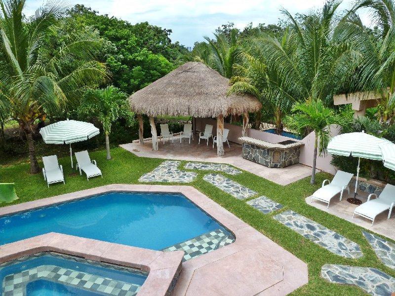 Villa Yalku Garden pool - Golf Course Villa Yalku Puerto Aventuras - Puerto Aventuras - rentals