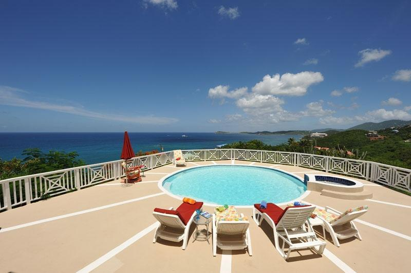 View from the pool deck - Villa Marbella Luxury Loft - Saint Thomas - rentals