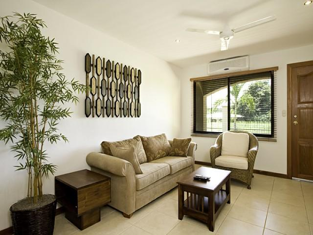 Living Room with cable tv - La Carolina Condo 8 - Brasilito - rentals
