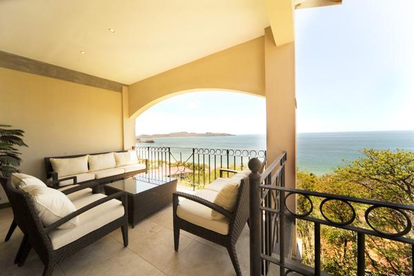 Balcony with Ocean View - Oceanica Condo 807 - Playa Flamingo - rentals