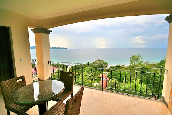 Beautiful Pacific Ocean views from the balcony. - Luxury Oceanview Condo - steps away from the beach - Playa Flamingo - rentals