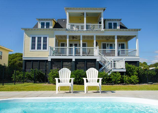 Island Fever -  Beach Front Luxury With a Private Pool - Image 1 - Edisto Island - rentals