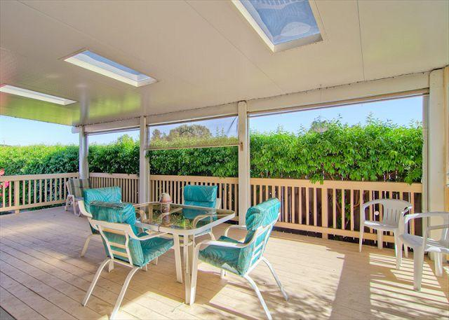 Back Patio - Golf and Wine-Tasting Clubhouse! - Paso Robles - rentals