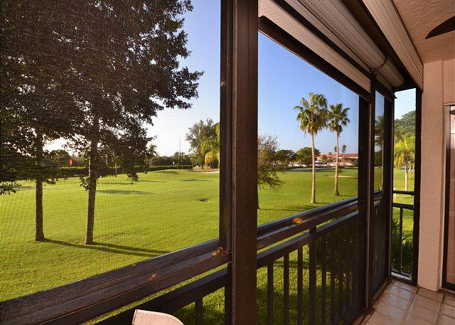 La Puerta 9-252  Updated condo with screened balcony, golf course view & WiFi - Image 1 - Saint Petersburg - rentals