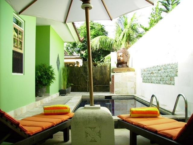 Complete Privacy. Fly screen doors, aircon and ceiling fans, screen windows. Enclosed living area. - Lemongrass Private Villa - Clean white sandy beaches, FREE  AIRPORT PICK UP :) - Nusa Dua - rentals