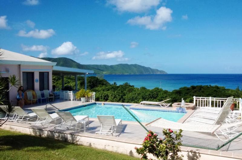 Villa Dawn, St. Croix, USVI View of Cane Bay - Villa Dawn most popular on St. Croix for 15 years! - Saint Croix - rentals