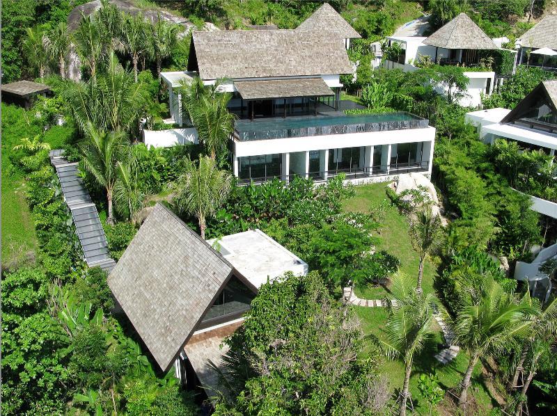 Villa Yang - Stunning Clifftop Ocean View Phuket - Image 1 - Kamala - rentals