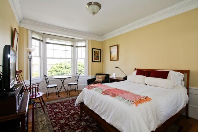 Living room - Nob Hill Studio - San Francisco - rentals