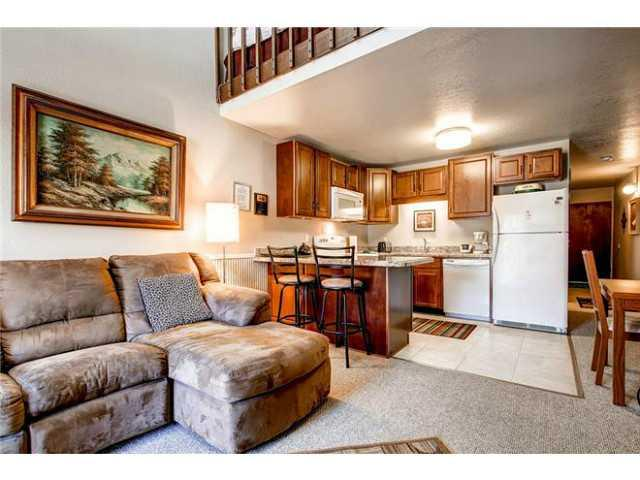 Gorgeous living room in this 1000 square foot Park City condo - Park City charmer 300 yards to 3 ski lifts sleep 6 - Park City - rentals