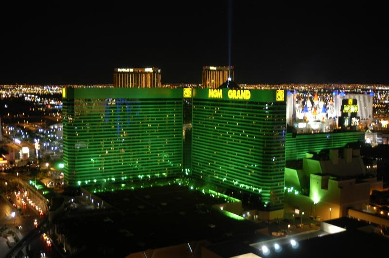 View from balcony of South LV Strip - Rental by Owner Direct-Signature 2BD2BA DECSPECIAL - Las Vegas - rentals