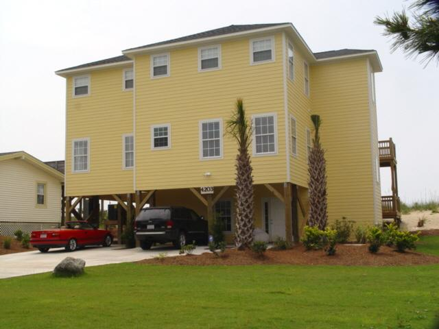 Front - Beach Place - Emerald Isle - rentals