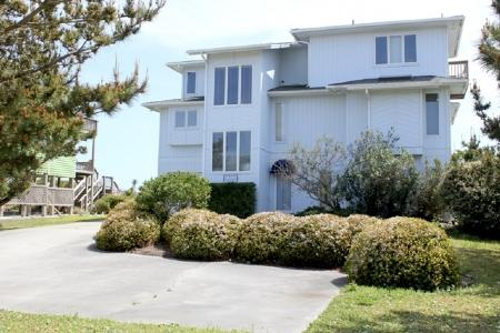 Exterior~ Street Side - Isle Stay - Emerald Isle - rentals