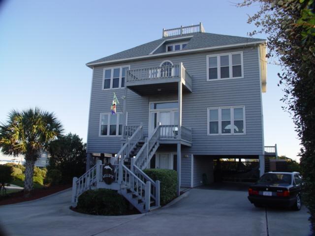 Exterior2 - Maritime Place - Emerald Isle - rentals