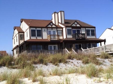 Exterior Oceanfront - Ocean Reef- 2A - Emerald Isle - rentals