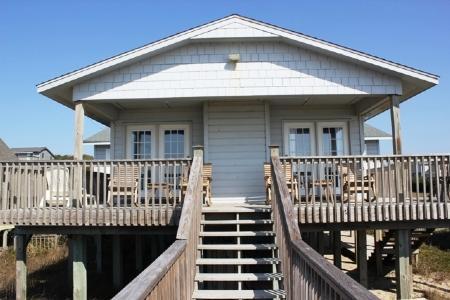 Exterior Oceanfront - Shag-A-Way - Emerald Isle - rentals