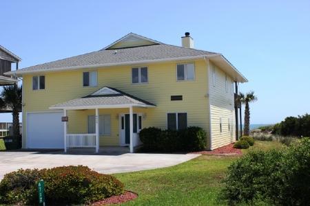 Exterior Street Side - Three Seas - Emerald Isle - rentals
