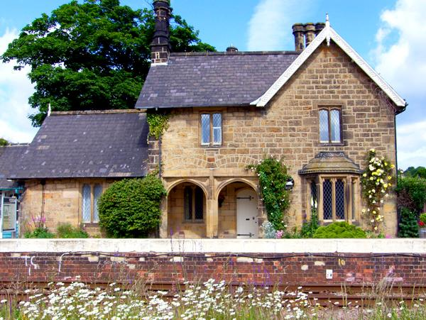 THE STATION HOUSE, pet friendly, character holiday cottage, with a garden in Ruswarp Near Whitby, Ref 1220 - Image 1 - Ruswarp - rentals