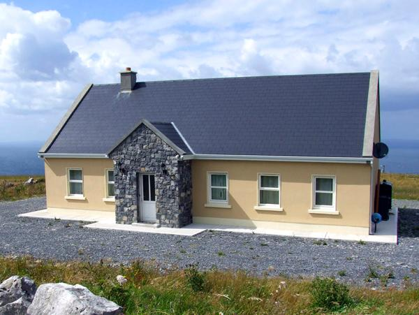 VIEW OF THE BURREN, country holiday cottage, with a garden in Fanore, County Clare, Ref 2605 - Image 1 - Fanore - rentals