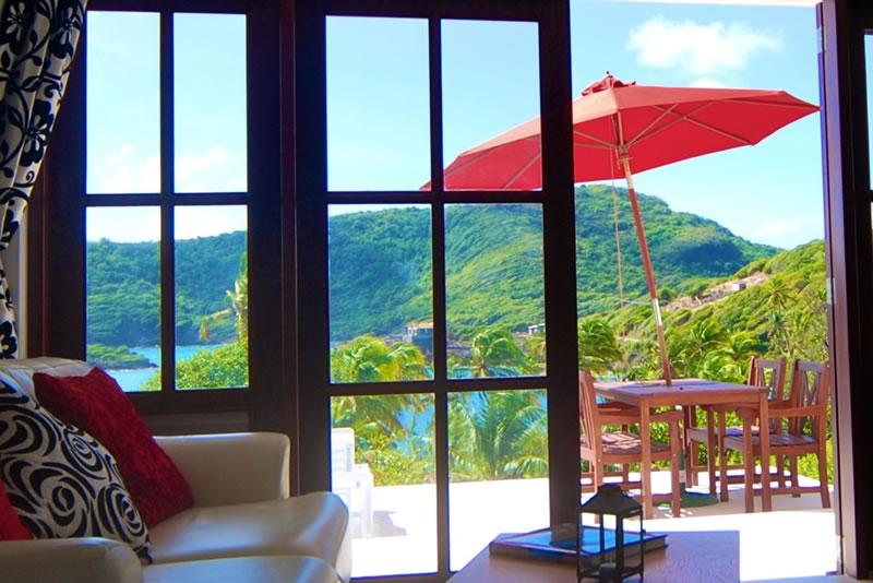Beachfront Plantation House - Udo/ 1 Bed - Bequia - Beachfront Plantation House - Udo/ 1 Bed - Bequia - Crescent Beach - rentals