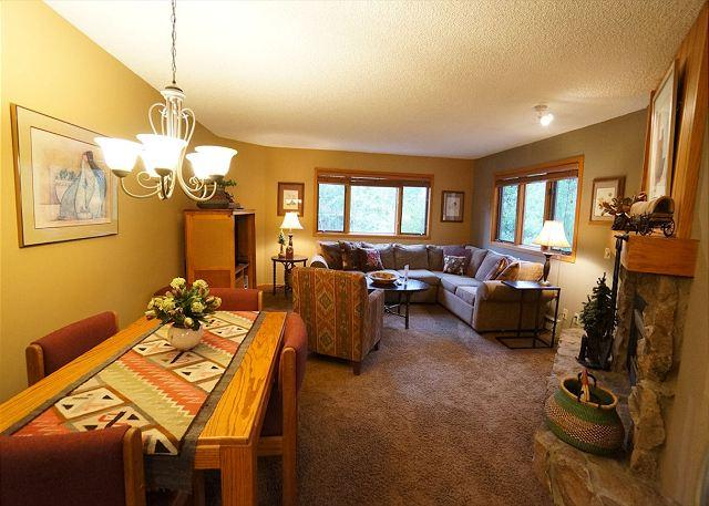 Woods Manor Dining Breckenridge Lodging - Woods Manor 103A Condo Breckenridge Colorado Vacation Rental - Breckenridge - rentals