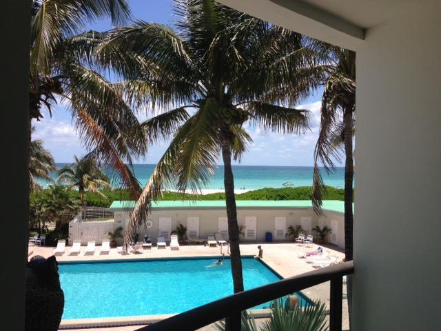 View from balcony - North Beach Townhouse 9 - Miami Beach - rentals