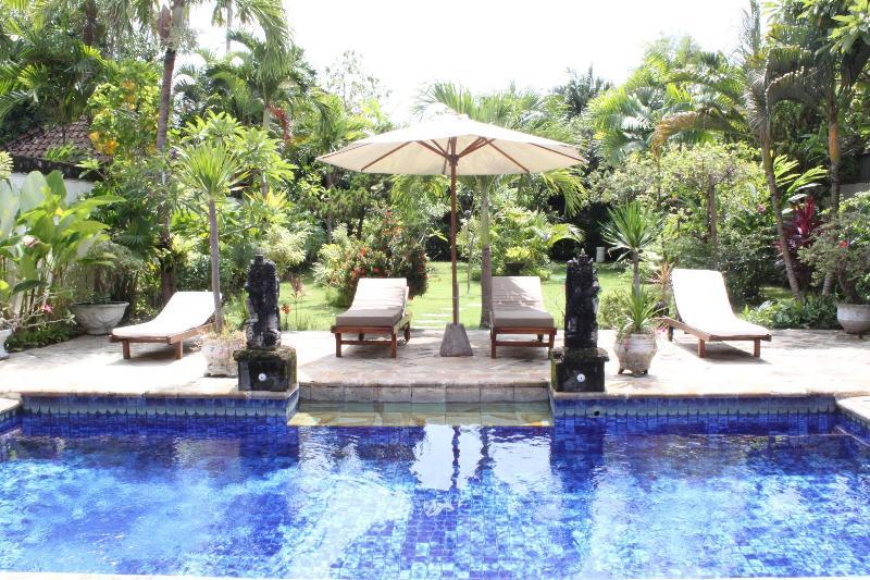 view pool and garden villa Di Uma II - SPACIOUS VILLA WITH LARGE GARDEN-400 M FROM  BEACH - Seminyak - rentals