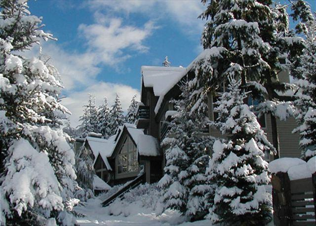 Snowgoose Complex in Winter - Snowgoose 18 | Whistler Platinum | Townhome, Mountain Views, Private Hot Tub - Whistler - rentals