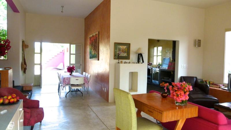 Living Room - Modern Hacienda House. Private Gdn.. Saltwater Pool. - Todos Santos - rentals