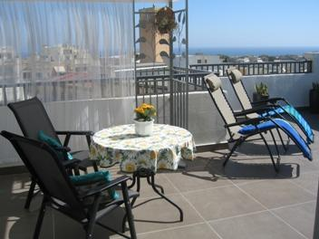Large Terrace - St. Julians Penthouse with Large Terrace - Saint Julian's - rentals
